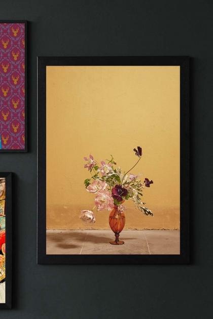 Unframed Ochra Blomst 02 Art Print By Uffe Buchard