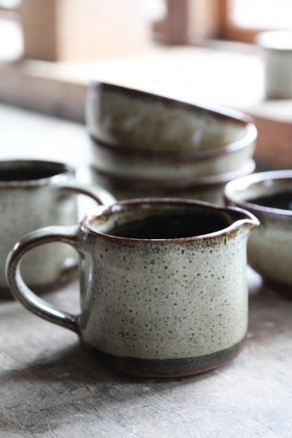 Natural Jolie Stoneware Milk Jug