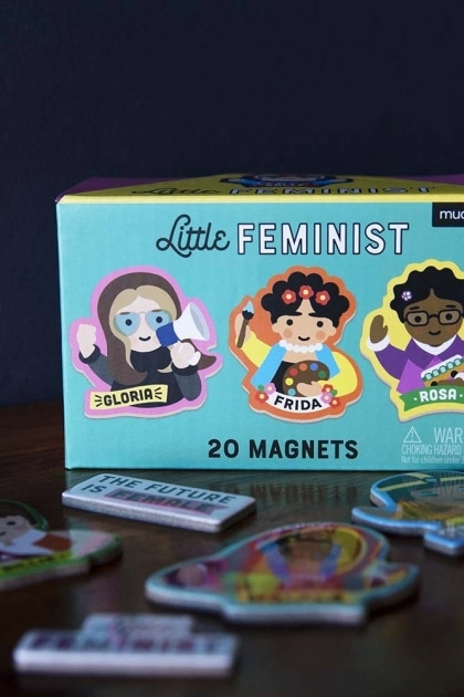 Set Of 20 Little Feminist Magnets