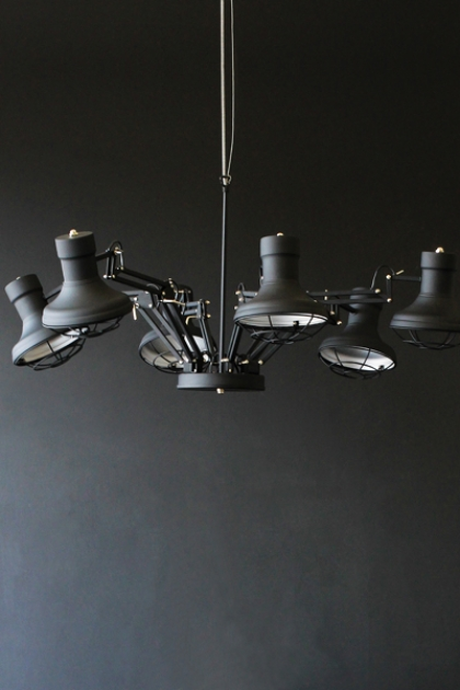 Six Arm Ceiling Light