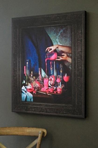 Still Life Canvas Print - Pink
