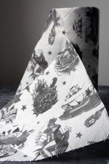 Traditional Tattoo Kitchen Roll