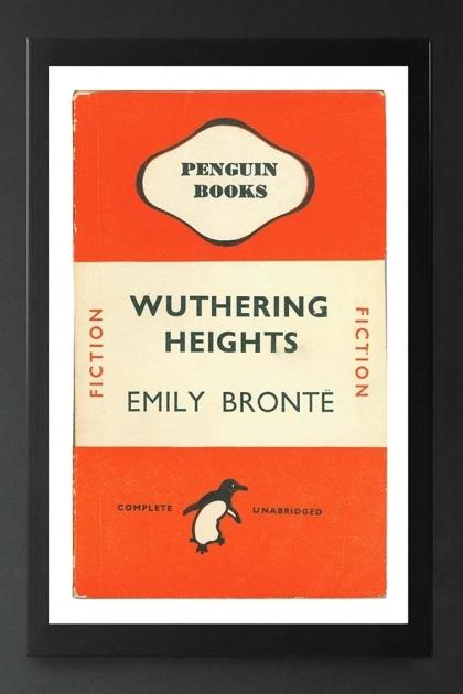 Unframed Penguin Books: Wuthering Heights Fine Art Print