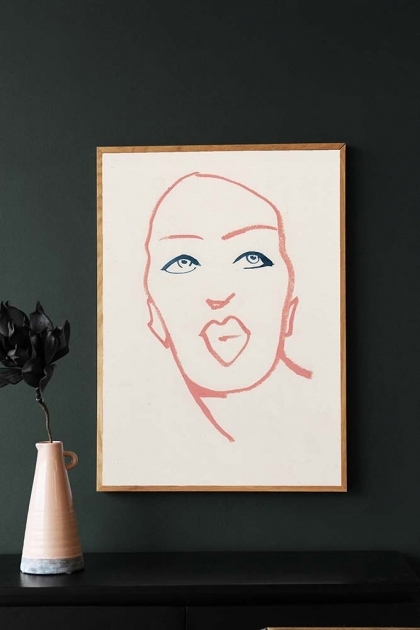 Unframed Silhouette 01 Art Print by Amelie Hegardt