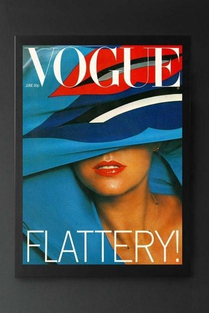 Unframed Vogue June 1977 Art Print By Barry Lategan