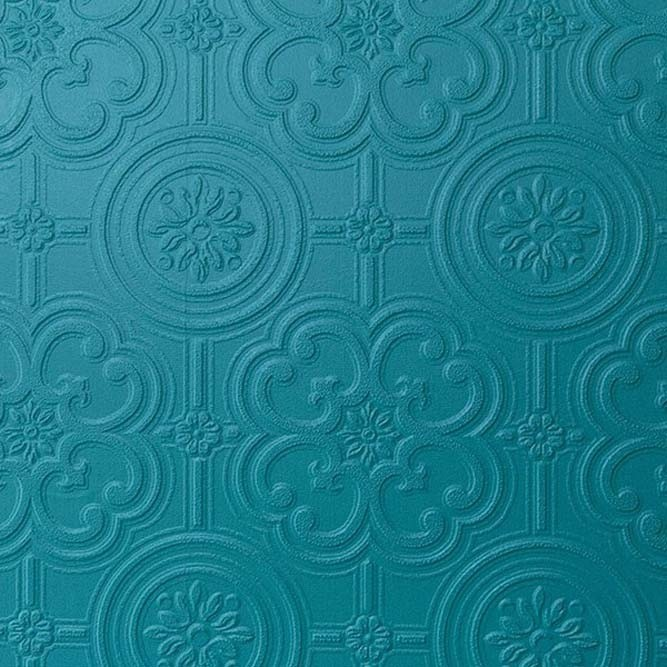 Anaglypta Egon Wallpaper White