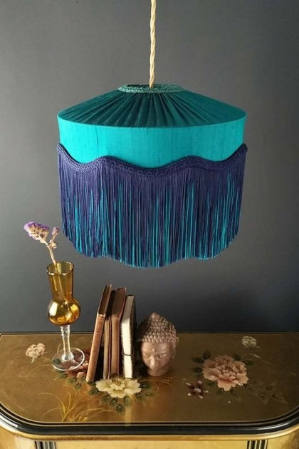 Swell Beauvamp Teal Silk Tiffany Lamp Shade Various Options Available Best Image Libraries Sapebelowcountryjoecom