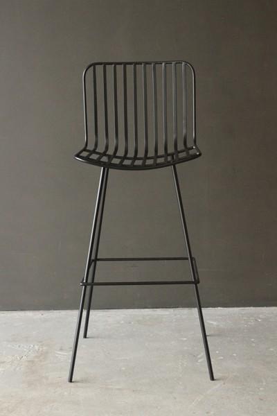 Astonishing Blabk Metal Stools Nero Black Metal Bar Stool Rockett St Machost Co Dining Chair Design Ideas Machostcouk