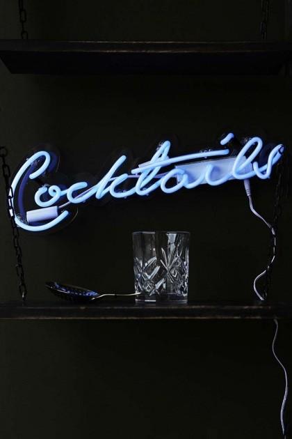 Cocktails Neon Light