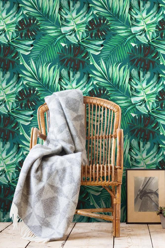 Mind The Gap Rainforest Wallpaper
