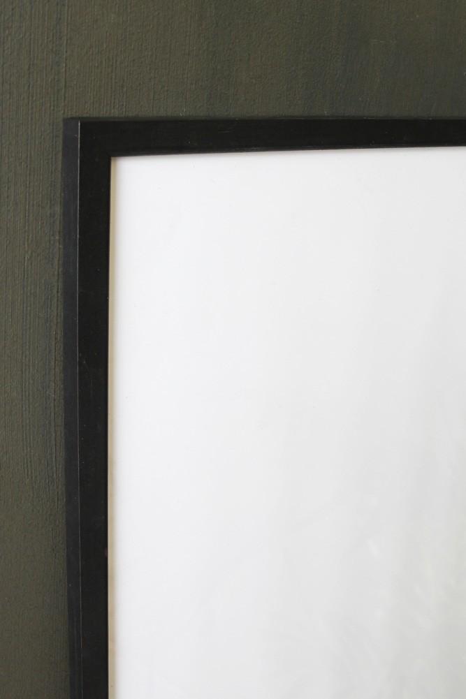 large black wooden frame 30cm x 40cm rockett st george