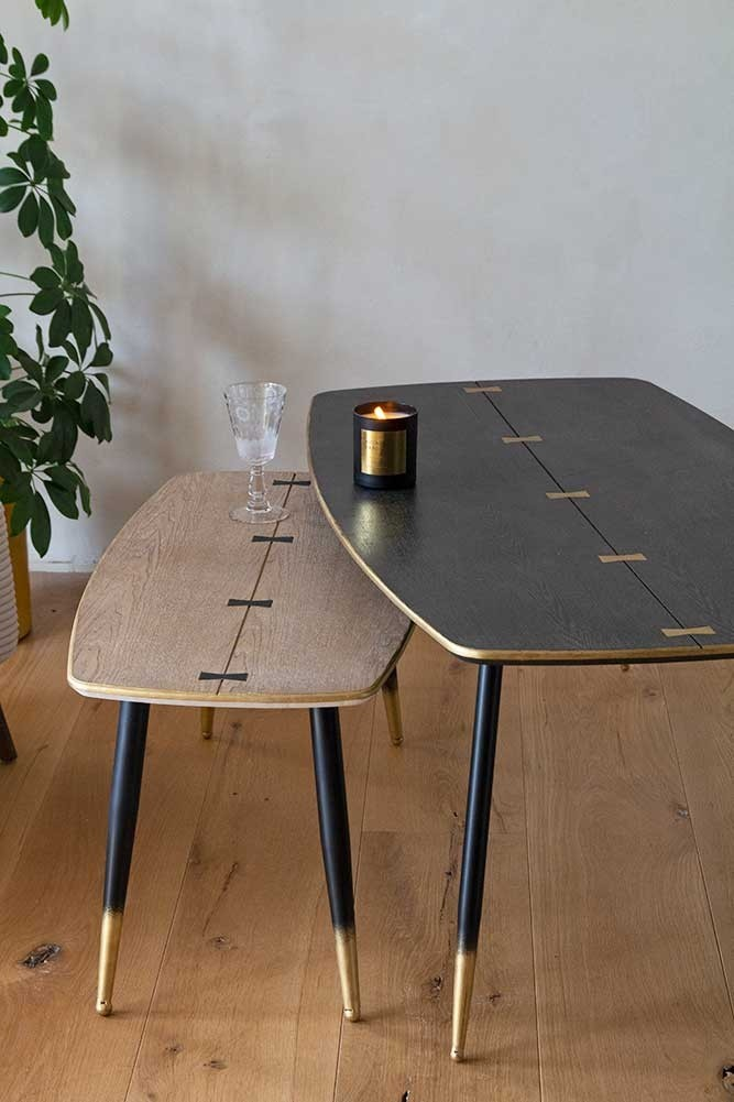 Art Deco Mid Century Modern Coffee Table 2 Colours Available
