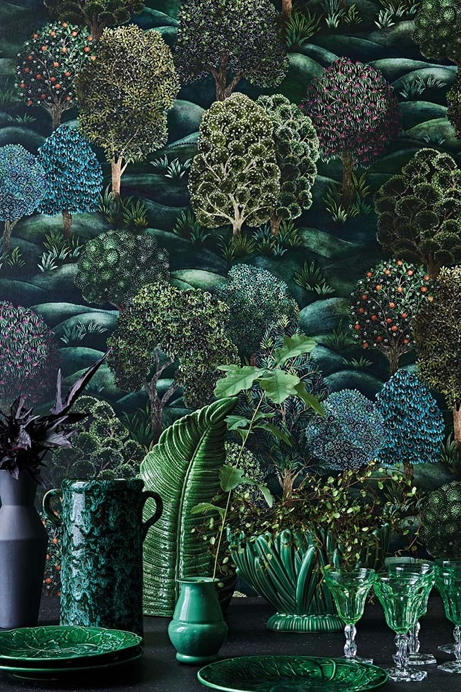 Cole Son Botanical Botanica Forest Wallpaper