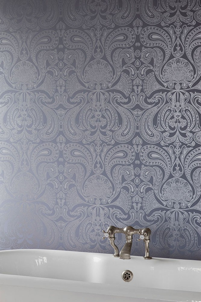 Cole Son Contemporary Restyled Malabar Wallpaper 3 Dark Colours Available