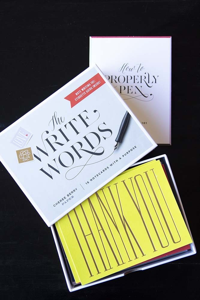 the write words greeting notecards booklet from rockett st george