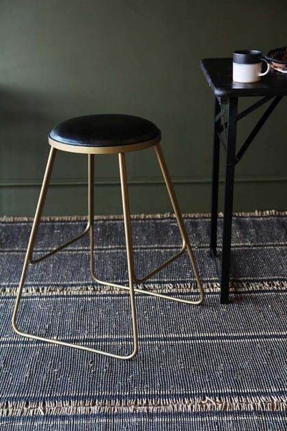 Incredible Stackable Bar Stool Black With Gold Legs Ocoug Best Dining Table And Chair Ideas Images Ocougorg