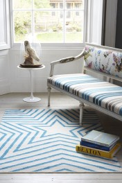 100% Pure Wool Star Rug / Mat - Various Colours & Sizes