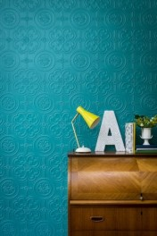 Anaglypta Egon Wallpaper - White
