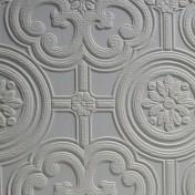 Anaglypta Egon Wallpaper - White