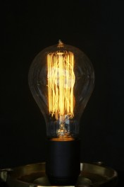 B22 40W Large Edison Squirrel Cage Bulb
