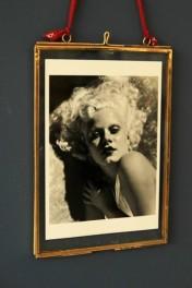 Brass & Glass Picture Frame - 5x7 Portrait
