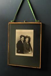 Brass & Glass Picture Frame - 8x10 Portrait