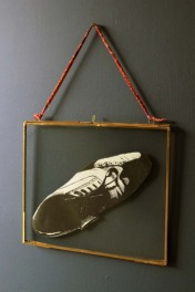 Brass & Glass Picture Frame - 8x10 Landscape