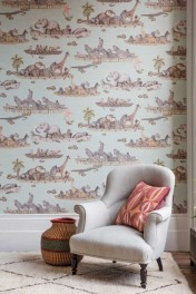Cole & Son The Ardmore Collection - Zambesi Wallpaper - 2 Colours Available