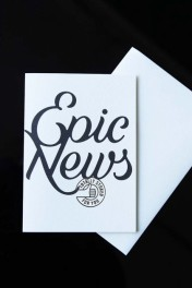 Epic News (Totally Stoked For You) Greeting Card
