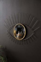 Golden Eye With Convex Mirror