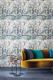 Osborne & Little Japanese Garden Wallpaper - 3 Colours Available