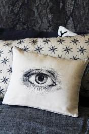 Mind's Eye Silk Cushion