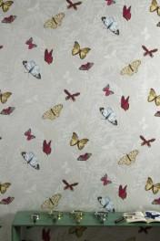 Nina Campbell Farfalla Wallpaper