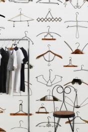 NLXL DRO-02 Obsession Hangers Wallpaper by Daniel Rozensztroch