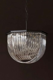 Opulent Crystal Pendant Ceiling Light