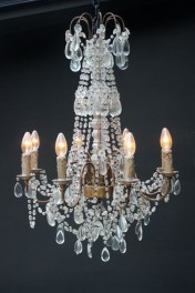 Ornate Candle Chandelier