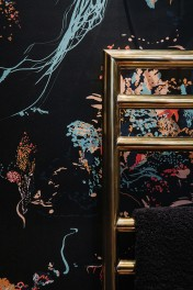 17 Patterns Jellyfish Wallpaper - 4 Colours Available