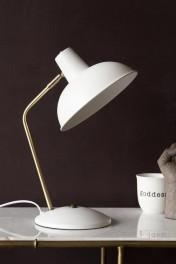 Retro Desk Lamp - Matt White