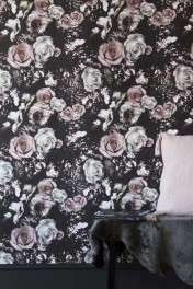 Rockett St George Flower Power Wallpaper - Blush