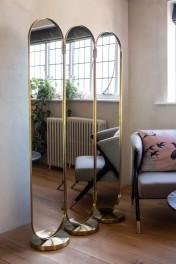 Gatsby Inspired 3-Way Dressing Mirror / Room Divider