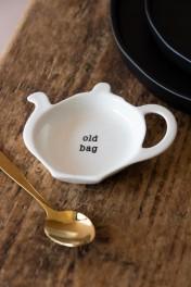 Old Bag Tea Bag Saucer