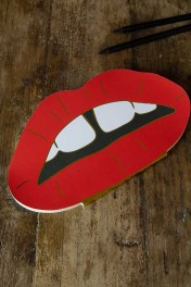 Red Lips Notebook