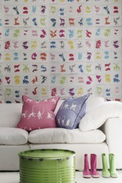 Andrew Martin Two By Two Wallpaper - 2 Colours Available