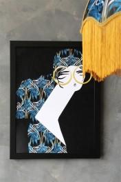 Unframed Anna Hayman with Beth Fraser Art Prints - Patsy