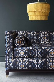 Bespoke 1920's Style Sloane 3 Seater Sofa