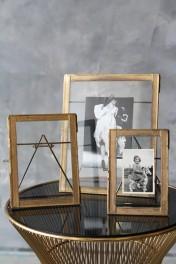 Desktop Brass Frame - 3 Sizes Available