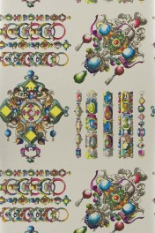 Christian Lacroix Belles Rives Collection - La Main Au Collet Wallpaper - 7 Colours Available