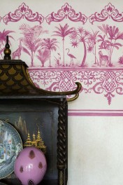 Cole & Son Folie Collection - Rousseau Border - 5 Colours Available