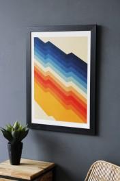 Barricade Colours Art Print