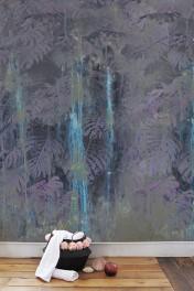 Elli Popp Dusk - The Sound of Water Wallpaper - Aubergine Purple